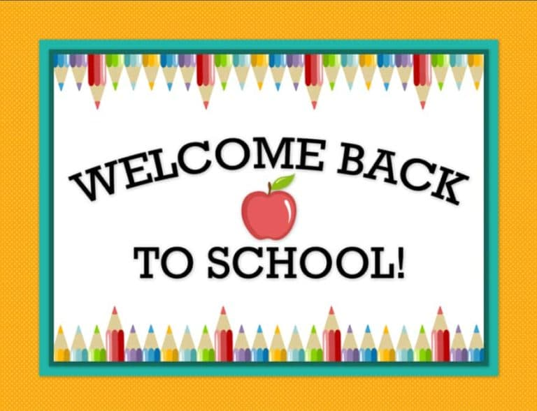 Read more about the article Welcome Back!!!
