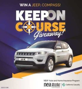 Read more about the article Win a Jeep Compass or $25,000 in cash courtesy of California Casualty