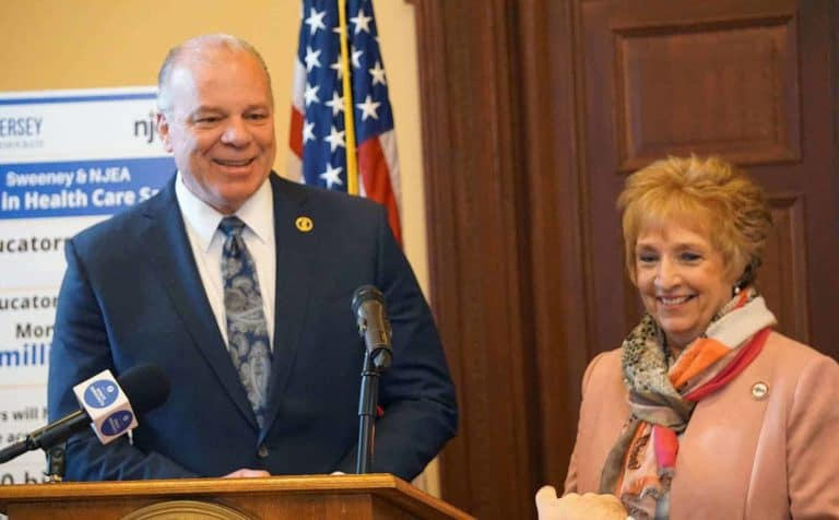 Read more about the article NJEA, Sweeney announce landmark agreement on Ch. 78 relief, ESP Job Justice