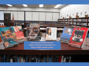 Read more about the article WEA Donates Books to Wayne Schools