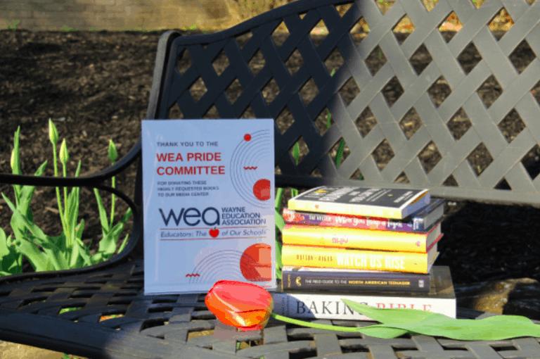 WEA Donates Books to School Media Centers